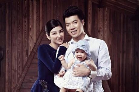 Vợ chồng Huỳnh Dịch – Hoàng Nghị Thanh khi còn mặn nồng.