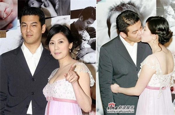 """Giả Tịnh Văn và Tôn Chí Hạo có con trước khi cưới. Chính vì thế mà nàng Triệu Mẫn xinh đẹp phải sống dưới tiếng xấu """"chưa chồng mà chửa""""."""