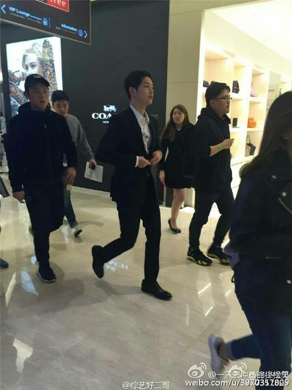Soái ca quân nhân Song Joong Ki phong độ ngời ngời lấn át Luhan