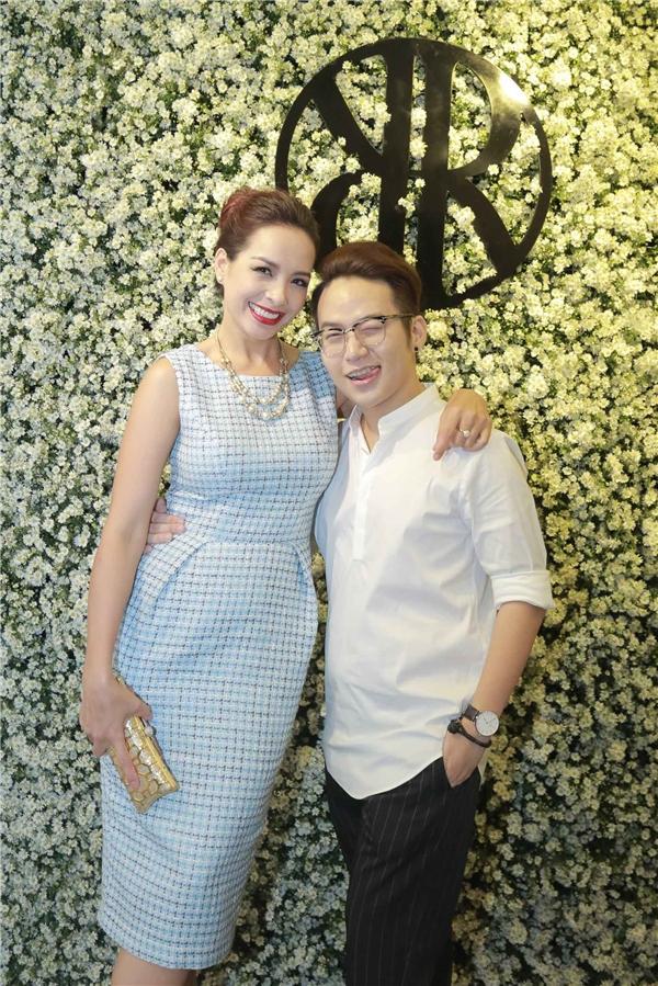 Cựu người mẫu Thuý Hạnh tươi tắn bên nhà thiết kế trẻ tài năng Chung Thanh Phong - Tin sao Viet - Tin tuc sao Viet - Scandal sao Viet - Tin tuc cua Sao - Tin cua Sao