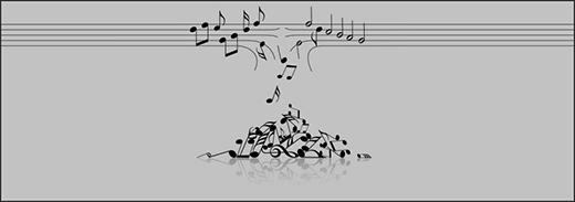 """Đến cả cácnốt nhạc cũng """"muốn xỉu"""" với nhữngthánh này. (Ảnh: Internet)"""