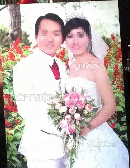 Hình đám cưới của P và T trước đây (ảnh do gia đình cung cấp).