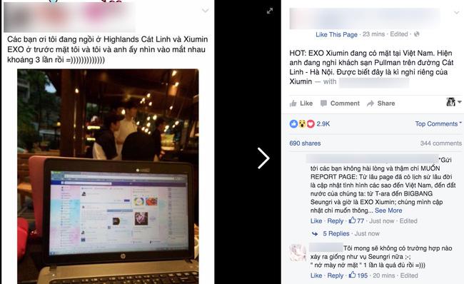 Hình ảnh mới nhất của Xiumin (EXO) tại Hà Nội - Việt Nam