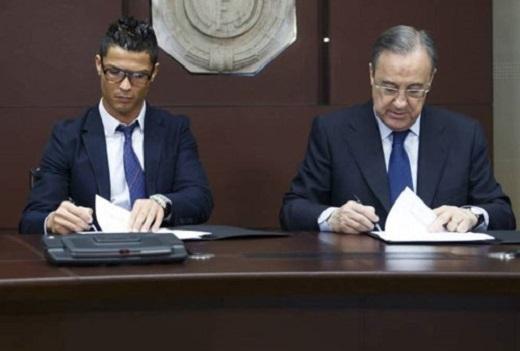 Real đang đề nghị Ronaldo gia hạn hợp đồng đến năm 2020?