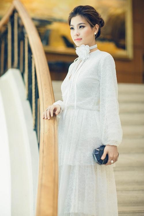 Á hậu Việt Nam 2014 Diễm Trang được nhiều người yêu mến bởi gương mặt khả ái. - Tin sao Viet - Tin tuc sao Viet - Scandal sao Viet - Tin tuc cua Sao - Tin cua Sao