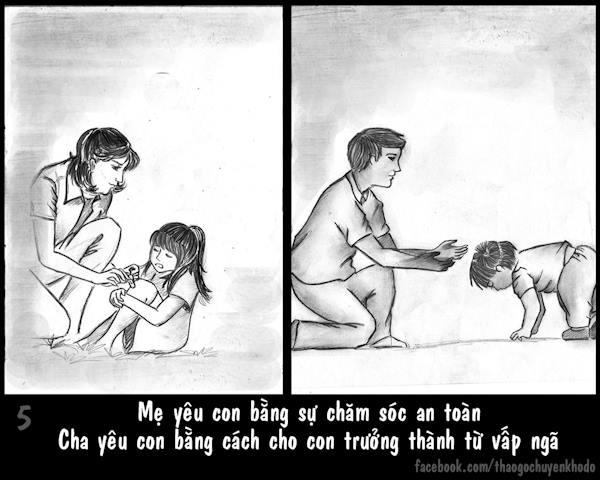 Bộ ảnh tình cha, nghĩa mẹ lấy nước mắt của cư dân mạng