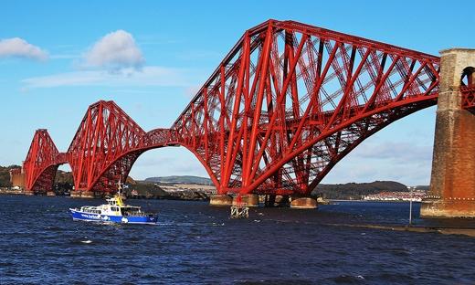 """Forth được mệnh danh là """"Cây cầu nặng kí nhất thế giới"""".(Ảnh: Internet)"""