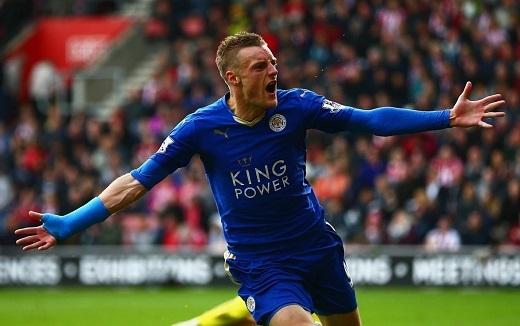 """Vardy đang là """"cỗ máy săn bàn"""" của Leicester City.(Ảnh: Internet)"""