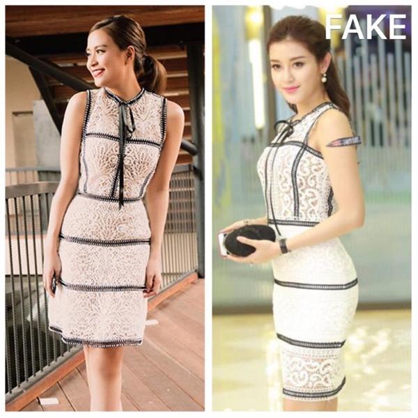 Cụ thể, nhà thiết kế Chung Thanh Phong đã chia sẻ trên trang cá nhân những hình ảnh cùng dòng trạng thái khẳng định chiếc váy mà Huyền My diện chính là sản phẩm nhái thiết kế vừa ra mắt của mình.