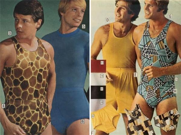 Ở bức ảnh này, bạn sẽ dễ dàng nhận thấy, bodysuit cũng từng là lựa chọn hàng đầu của phái mạnh. Thật bất ngờ và thú vị.