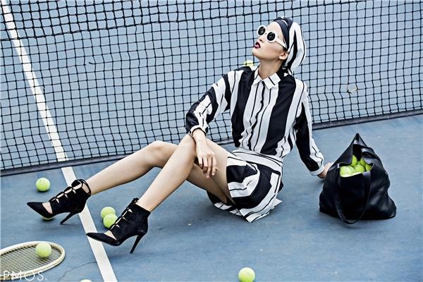Lóa mắt với phong cách thời trang ấn tượng của Chà Mi