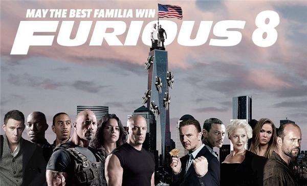 Dàn sao góp mặt trong Furious 8.