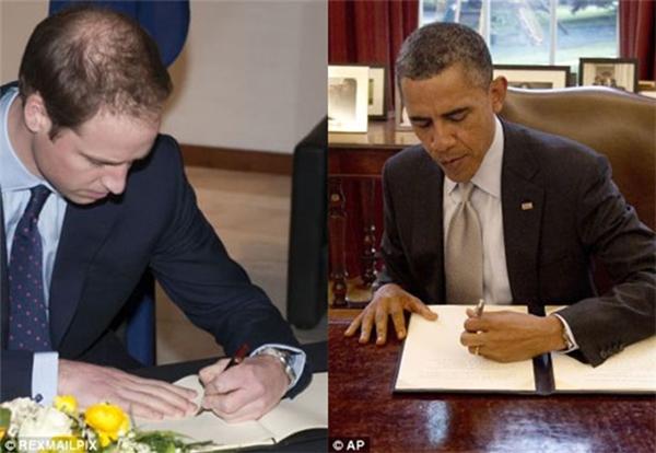 Thì ra là các nhà lãnh đạo trên thế giới đều là người thuận tay trái.