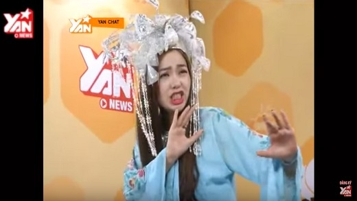 """YAN Chat: """"Cười nghiêng ngả"""" với màn hát bội độc đáo của Phương Thanh và Minh Hằng"""