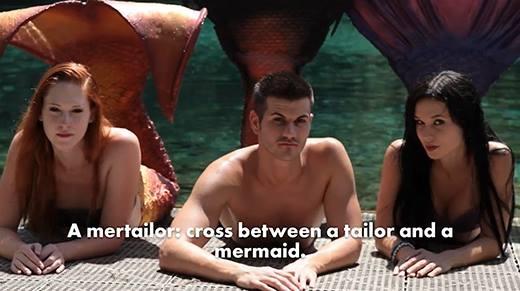Đây là chàng trai đã tạo nên những chiếc đuôi cho nàng tiên cá