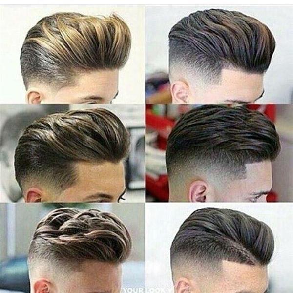 Ngất lịm với kiểu tóc quá đẹp trai dành cho các soái ca nhí và bố