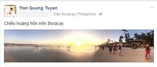 Gia đình Hà Tăng tham dự lễ cưới tại hòn đảo Boracay xinh đẹp - Tin sao Viet - Tin tuc sao Viet - Scandal sao Viet - Tin tuc cua Sao - Tin cua Sao