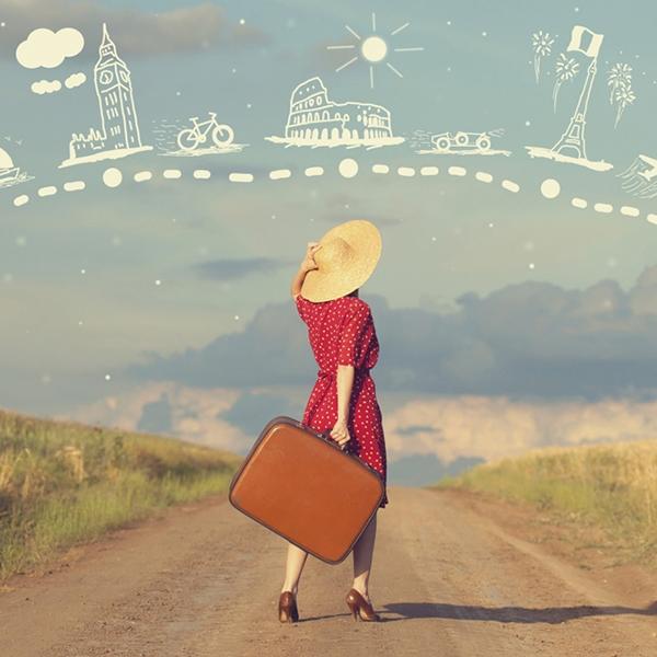 Đi du lịch một mình là một thú vui tao nhã mà không phải ai cũng có. (Ảnh: Internet)