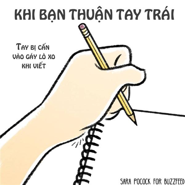 Đời ra sao khi bạn thuận tay trái?