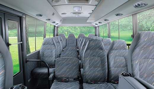 Những ghế gần cửa lên xuống và nằm giữa xe là an toàn nhất. (Ảnh: Internet)