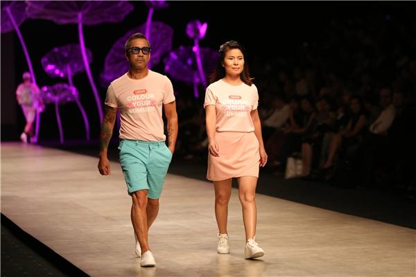 Mâu Thủy, Nguyễn Oanh: hai nốt nhạc vàng trên sàn catwalk