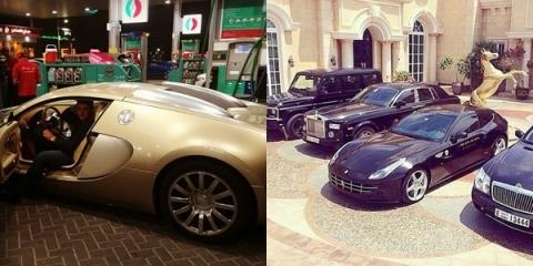 """Trên Instagram, hội con nhà giàu Dubai giới thiệu: """"Chúng tôi đại điện cho những người tuyệt vời nhất ở Dubai. Xe hơi, thời trang, tài sản, phong cách sống, giấc mơ Dubai!""""."""