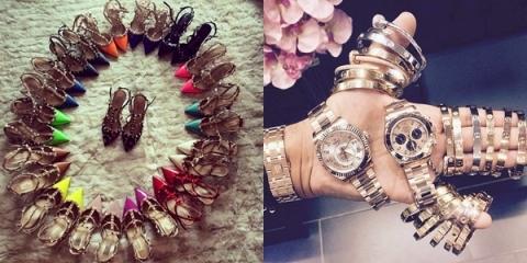 Nỗi lo của các thiếu gia tiểu thư là mỗi sáng dậy không biết đi đôi giày màu gì, đeo đồng hồ, trang sức