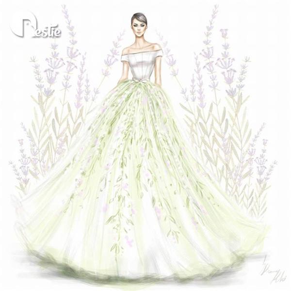 Cảm hứng thời trang Xuân - Hè thể hiện rõ nét qua họa tiết hoa lá kết hợp những tông màu nhẹ nhàng, tươi sáng.