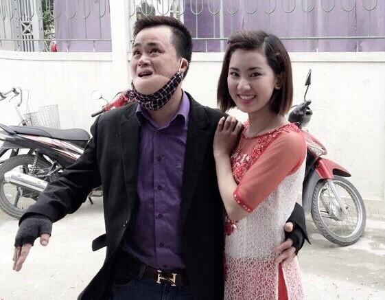 Bất chấp sự phản đối từ phía gia đình, Giáp Huế vẫn nguyện yêu và lấy Văn Hòa làm chồng. Ảnh: NVCC.