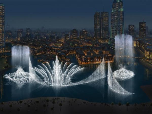 Top 10 đài phun nước có kiến trúc hoành tráng nhất thế giới