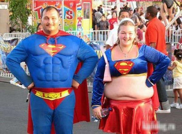 Gia đình 'Super man' phiên bản lỗi.