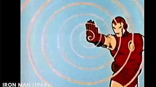 """Lịch sử 50 năm tiến hóa """"vi diệu"""" của Iron Man"""