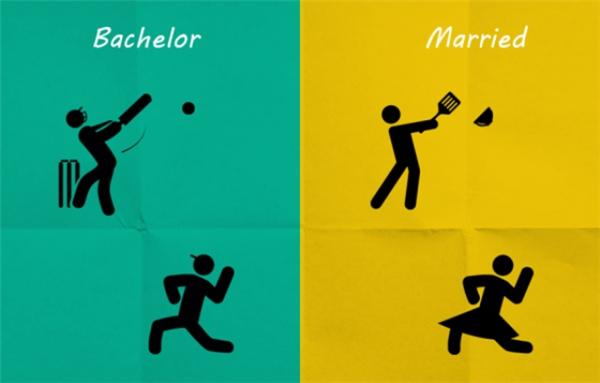 Kinh nghiệm được truyền lại từ Hội những người đàn ông rất (không) sợ vợ là nên tập chơi bóng chày từ trẻ để ngày làm chồng còn biết đường mà tránh làn đạn chén bát từ cơn thịnh nộ của vợ.(Ảnh: Internet)