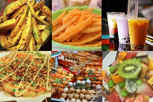 """Thiên đường """"ẩm thực đường phố"""" với những món ăn hot nhất hiện nay của giới trẻ """"sành ăn"""""""