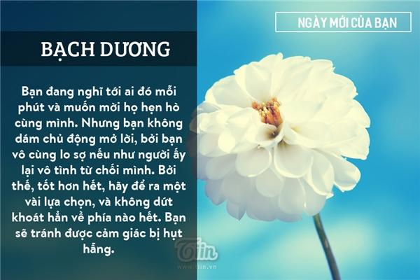 Bạch Dương (21/03 - 20/04)