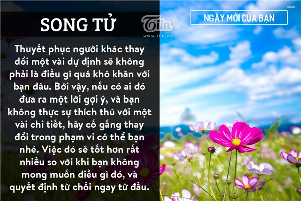 Song Tử (21/05 - 21/06)
