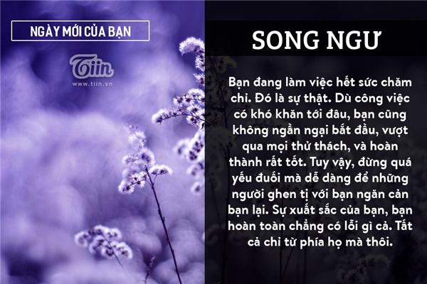 Song Ngư (19/02 - 20/03)