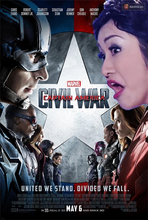 2 ngày nữa ra rạp xem chị tẩn Captain America nha mấy cưng!