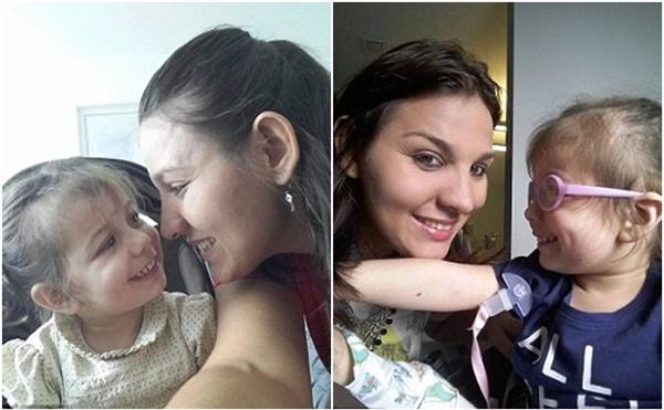 Khoảnh khắc thiêng liêng khi bé gái mù, điếc lần đầu nghe và thấy được mẹ