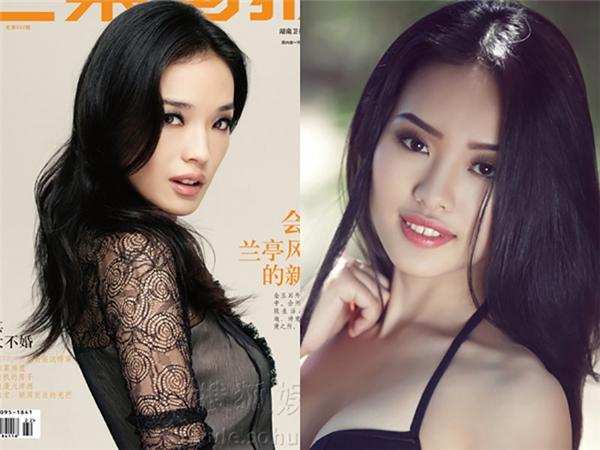 Hot girl Lâm Thị Thùy Jang có nhan sắc như chị em song sinh với Thư Kỳ. (Ảnh: Internet)