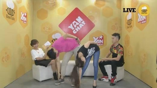 """YAN Chat: Hoàng Thùy Linh """"xách tai"""" Harry Lu đến YAN Chat"""