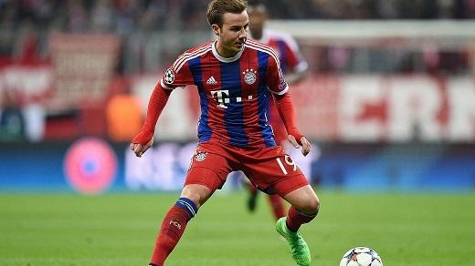 """Mario Gotze đang bị """"thất sủng"""" ở sân Allianz Arena"""