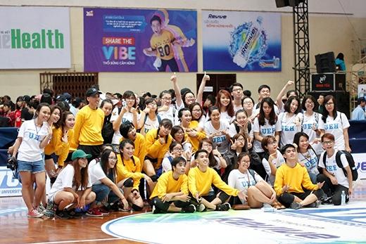VUG đã trở thành sân chơi quen thuộc nơi các bạn sinh viên tự tin bày tỏ tình yêu với đời sinh viên và ngôi trường cỉa mình.