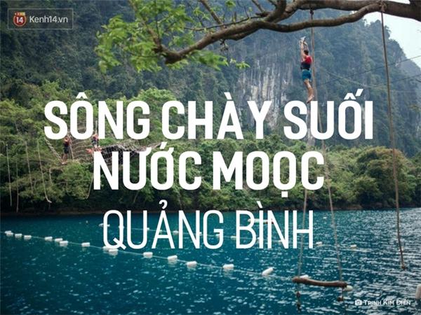 Được mệnh danh là Thiên đường tuyệt đẹp ít người biết ở Việt Nam, Sông Chày, suối Nước Mooc đang được rất nhiều phượt thủ rỉ tai nhau. Với làn nước xanh ngọc bích và cảnh sắc hoang sơ, cũng như những trải nghiệm mạo hiểm ở đây như chèo thuyền Kayak, đu dây... việc khám phá Sông Chày Suối Nước Mọoc vừa mang tính thử thách, lại vừa ẩn chứa sự lãng mạn, hiền hòa mà thiên nhiên mang lại. Và tất nhiên, đây là một nơi du lịch mới cóng, nên bạn không lo đông đúc hay vẻ đẹp hoang sơ bị ảnh hưởng.