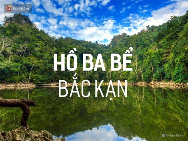 Hồ Ba Bể (thuộc vườn quốc gia Ba Bể) là 1 trong 100 hồ nước ngọt lớn nhất thế giới, 1 trong 16 hồ đẹp nhất thế giới. Vì vậy, hãy thử dành những ngày lễ đến chơi hồ Ba Bể, nghỉ tại nhà dân và thưởng thức các món ngon đánh bắt từ chính hồ nước này, bạn sẽ có được trải nghiệm rất quý giá. Tất nhiên, nơi đây không tiện nghi bằng những địa điểm du lịch nổi tiếng khác, nên bạn phải chuẩn bị tinh thần thích ứng nhé.