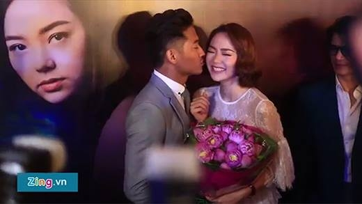Lộ clip Quý Bình khẳng định có một tình yêu rất lớn dành cho Minh Hằng