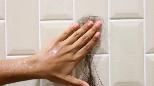 """Cuộc sống của bạn sẽ làm quen với những cơn mưa """"tóc"""" trong lúc tắm. (Ảnh: Internet)"""