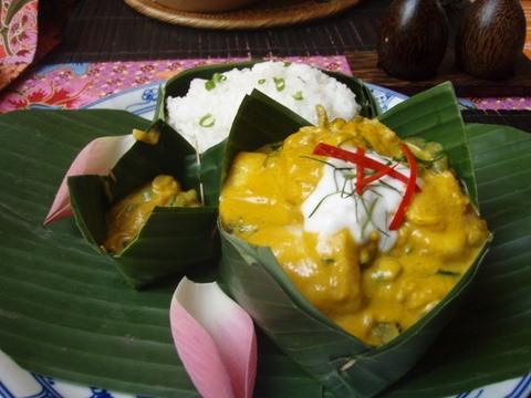 Amok - món đặc sản tinh túy của ẩm thực Campuchia.(Ảnh: Internet)