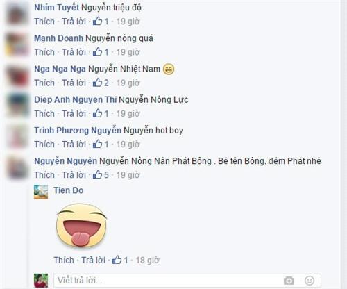 Nguyễn Thèm Trời Rét, Nguyễn Nồng Nàn Phát Bỏng,...