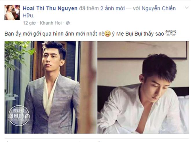 """Chia sẻ của hoa hậu Thu Hoài khiến cộng đồng fan Việt """"đứng ngồi không yên""""."""